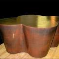 Faux Bronze Cast Coffee Table - David Easton Design NY, NY